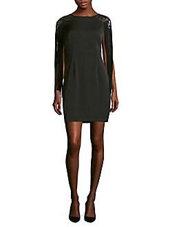 Aidan Mattox - Abstract Embellished Dress