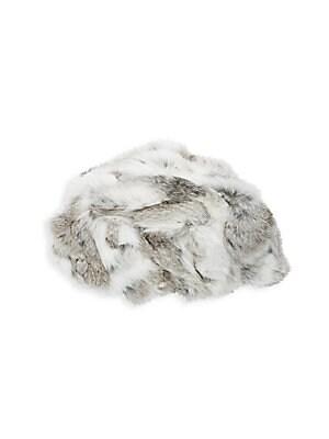 cb24811da2a Adrienne Landau - Dyed Rabbit Fur Hat - saksoff5th.com