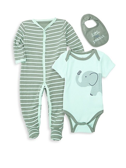 Baby Boys ThreePiece Bodysuit Jumpsuit  Bib Set