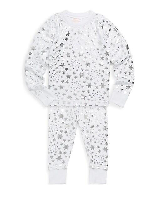 Baby Girls TwoPiece Star Cotton Pajama Set