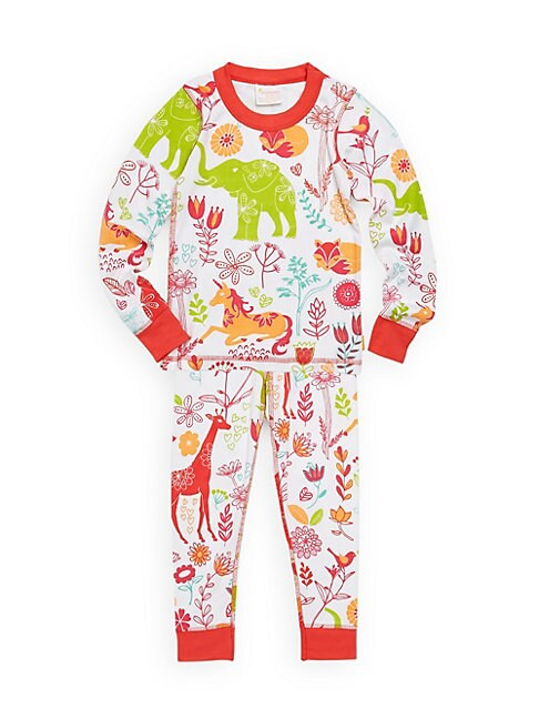 Baby Girls TwoPiece Magical Forest Cotton Pajama Set