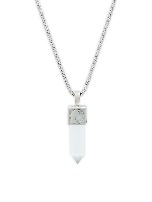 PEREPAIX | Tooth Stainless Steel Pendant Necklace | Goxip