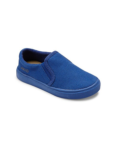 AKID Boy'S Liv Canvas Slip-On Sneakers