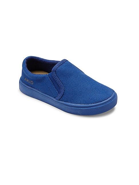 Boy's Liv Canvas Slip-On Sneakers