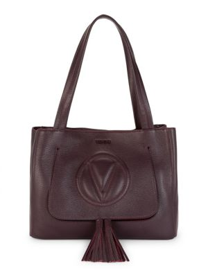 Valentino By Mario Valentino Estelle Leather Tote