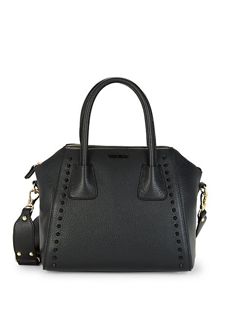 Valentino By Mario Valentino Minimi Studded Leather Tote