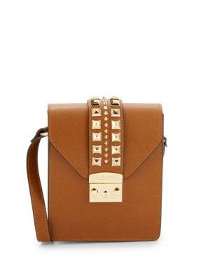 VALENTINO BY MARIO VALENTINO Bridgette Rockstud Leather Crossbody Bag
