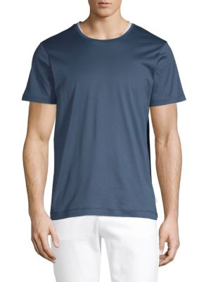 DANWARD Classic Cotton Jersey Tee in Ink