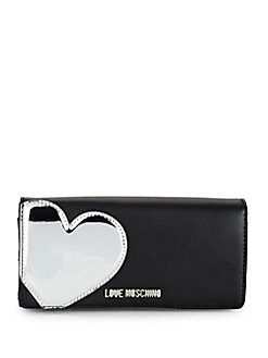 Love Moschino - Heart Faux Leather Wallet