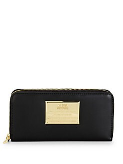 Love Moschino - Logo Faux Leather Continental Wallet