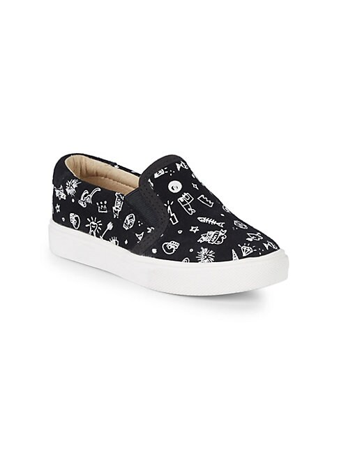 AKID Little Girl'S & Girl'S Liv Suede Sneakers