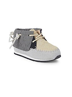 Akid - Baby Girl's & Little Girl's Stone High-Top Suede Sneakers