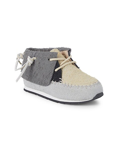 AKID Baby Girl'S & Little Girl'S Stone High-Top Suede Sneakers