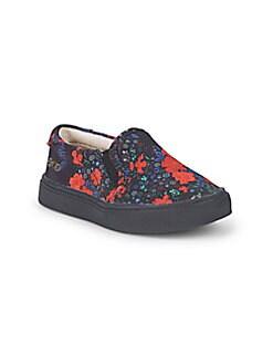 Akid - Little Girl's & Girl's Liv Graphic Slip-On Sneakers