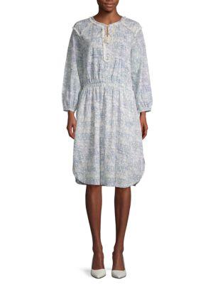 Antik Batik Cotton A-Line Dress