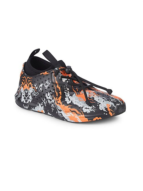 AKID Little Girl'S & Girl'S Chase Printed Sneakers