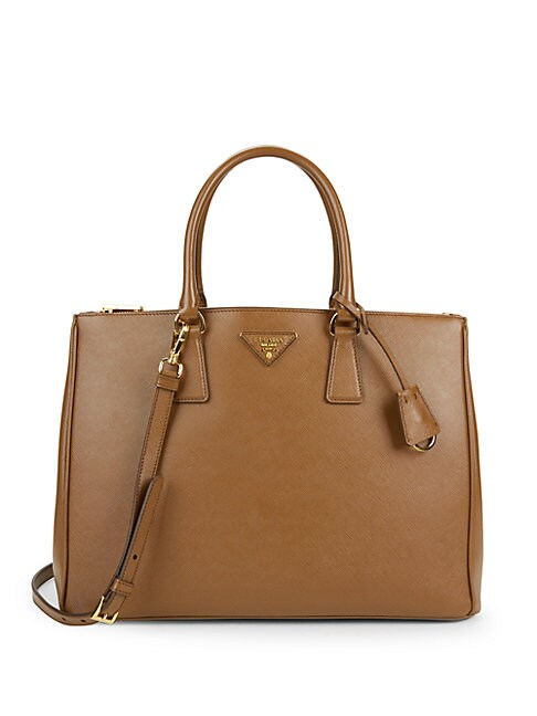 SAFFIANO MEDIUM LEATHER SATCHEL