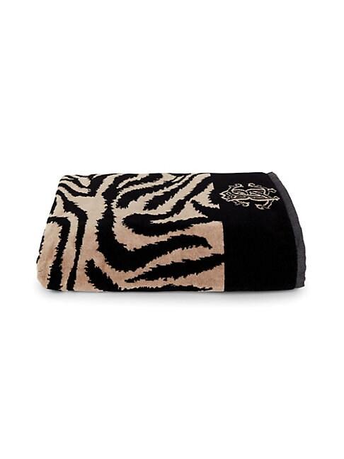 Animal Print & Monogram Towel