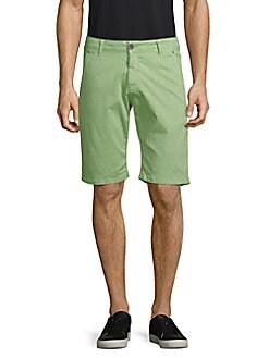fiver - Lasered Bermuda Shorts