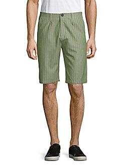 fiver - Striped Bermuda Shorts