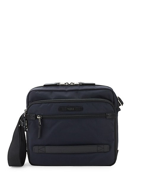 CLIFTON TWO-TONE SHOULDER BAG