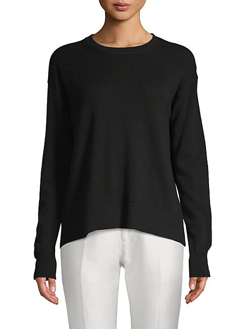Boxy Wool & Cashmere Pullover