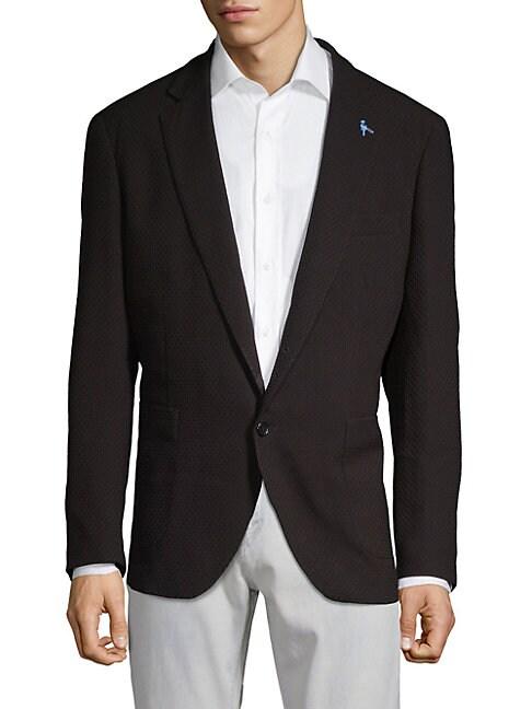 TAILORBYRD Isen Sport Jacket in Black