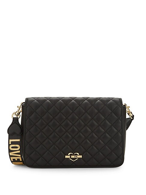 Diamond Quilted Crossbody Bag