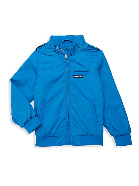 MEMBERS ONLY Boy'S Mockneck Full-Zip Jacket