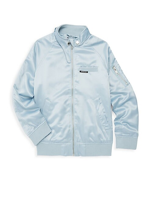 MEMBERS ONLY Girl'S Satin Boyfriend Jacket