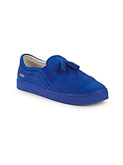 Akid - Little Girl's & Girl's Liv Tassel Leather Brogues