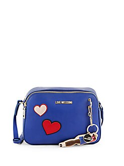 Love Moschino - Heart Faux Leather Crossbody Bag