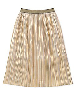Kate Spade New York - Girl's Metallic Skirt