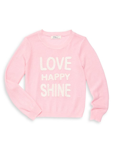 Little Girl's Graphic Crewneck Pullover
