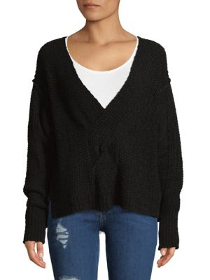 Free People Coco Oversized Cotton Sweater