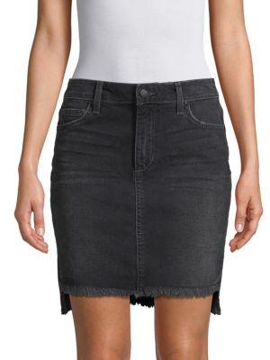 Joe's Hi-Lo Denim Skirt