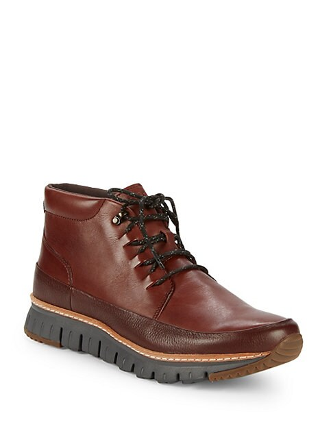 Zerogrand Leather Outdoor Boots