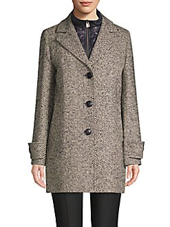 9820fd88dcf QUICK VIEW. Cinzia Rocca. Striped Long-Sleeve Jacket