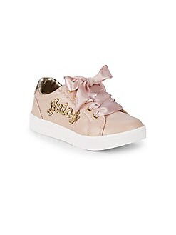 Juicy Couture - Girl's Satin Laces Sneakers
