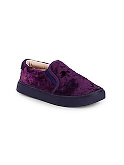 Akid - Little Girl's & Girl's Liv Faux Shearling Casual Shoes