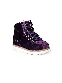 Akid - Little Girl's & Girl's Lace-Up Boots