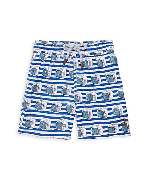 Boy's Tube TVs Swim Shorts