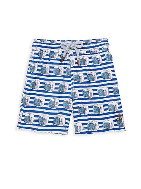 Boy's Tube TVs Swim Shorts