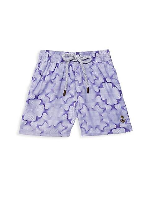 RETROMARINE Boy'S Fungi Printed Swim Shorts