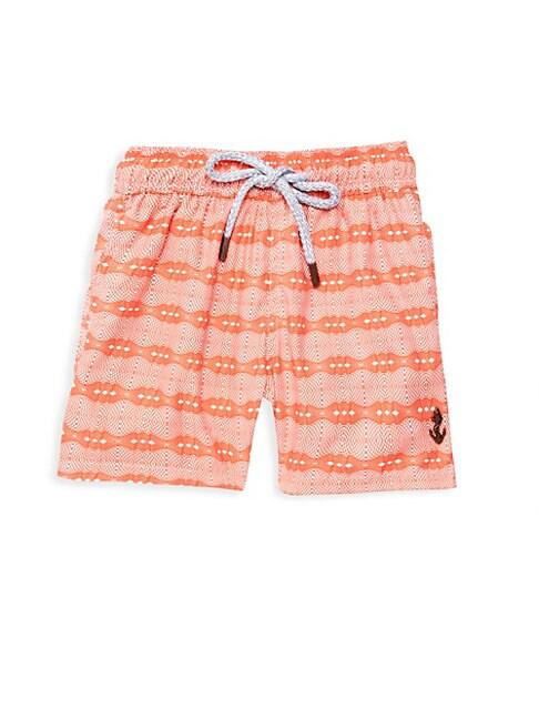 RETROMARINE Boy'S Ball Drawstring Swim Shorts
