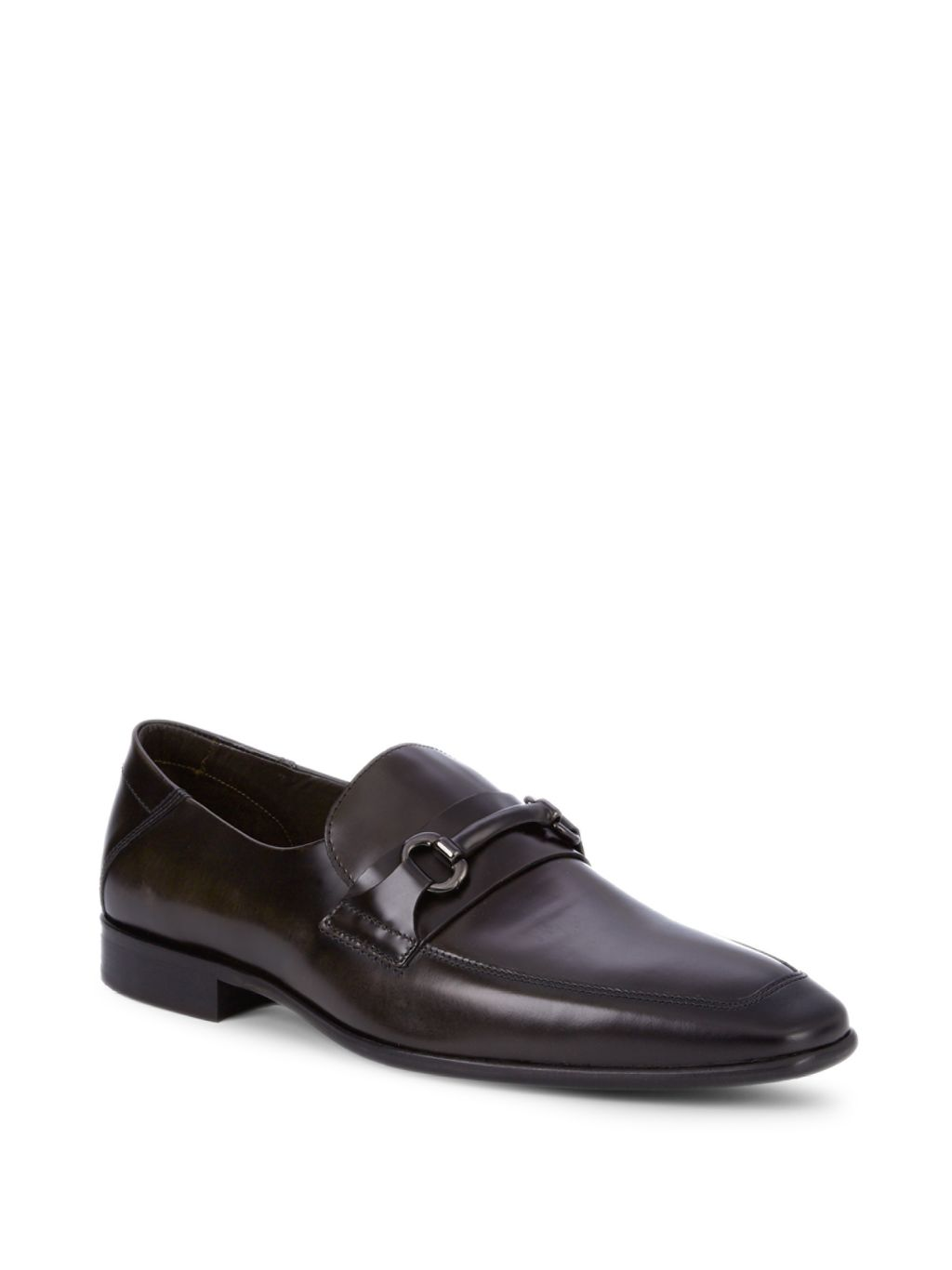 Bruno Magli Leather Horsebit Loafers