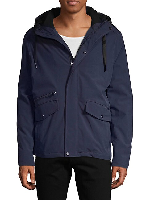 Sherpa-Lined Hooded Jacket
