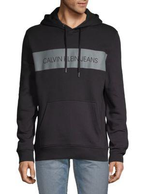 Calvin Klein Jeans Est.1978 Blocked Logo Pullover Hoodie
