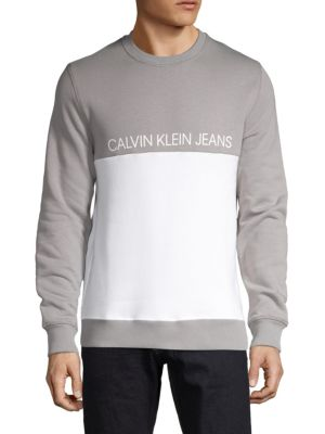 Calvin Klein Jeans Est.1978 Logo Colorblock Sweatshirt