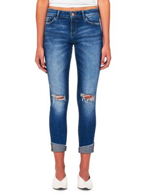 Dl1961 Florence Mid-Rise Crop Skinny Jeans